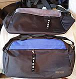 Спортивные дорожные сумки (АССОРТИ)25х44см, фото 3