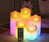 Электронные светодиодные свечи РЖБ с пультом