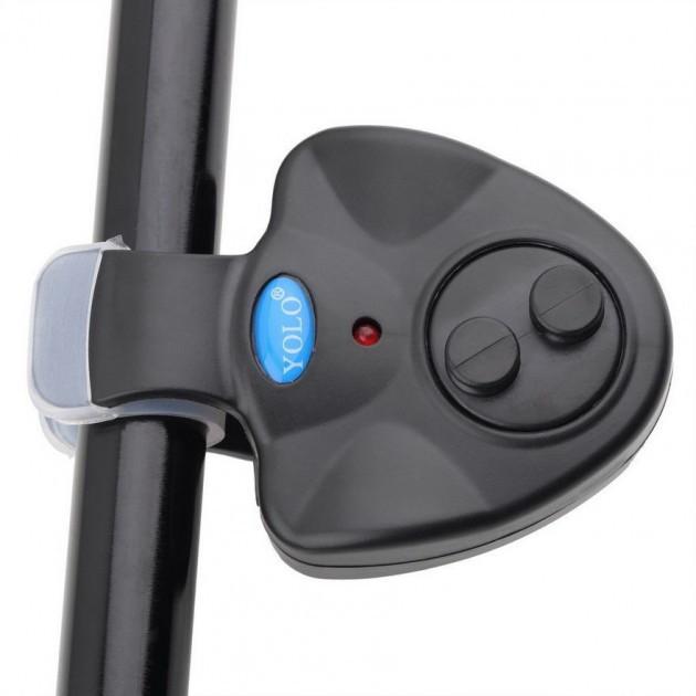Электронный сигнализатор поклевки Fish bite alarm, индикатор клева на удилище   сигналізатор кльову (GK)
