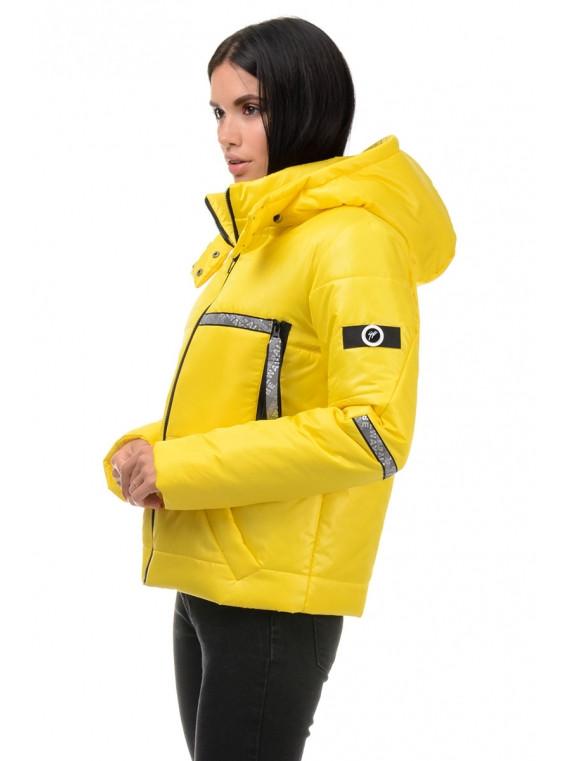 Куртка демісезонна (Жовтий)