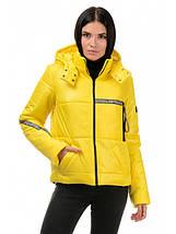 Куртка демісезонна (Жовтий), фото 3