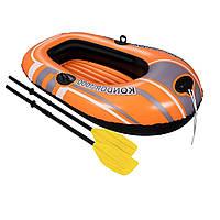 Лодка надувная Bestway 61078 , 155 х 93 см, с веслами