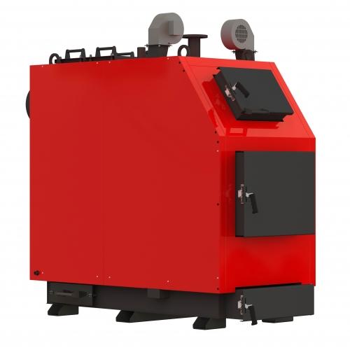 Индустриальный твердотопливный котел Kraft Prom V 250 кВт из котловой стали 8 мм с автоматикой