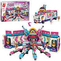 Детский большой конструктор для девочек Qman Cherry, от 6 лет, 984 детали