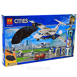 "Конструктор BELA City ""Повітряна поліція: авіабаза"" 559 деталей"