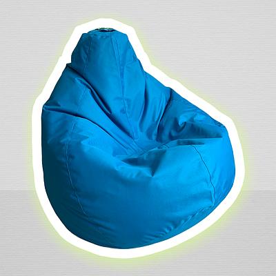 Крісло-мішок Lapufic Грушевич, розмір Як треба 120х90 см, з тканини Оксфорд