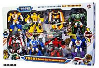 Набор 8 роботов Тоботы Tobot DT-339-10, Трансформер + подарок