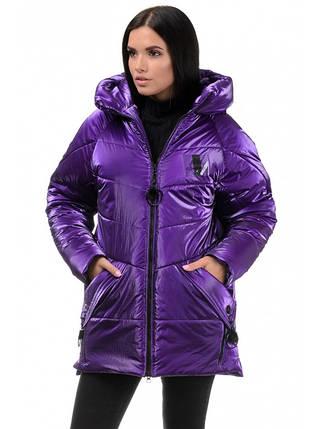 Куртка Зимова ( фіолет), фото 2