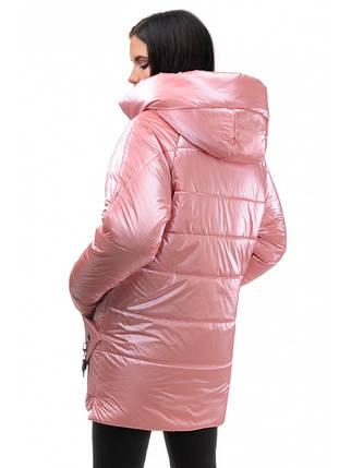 Куртка Зимова ( пудра), фото 2