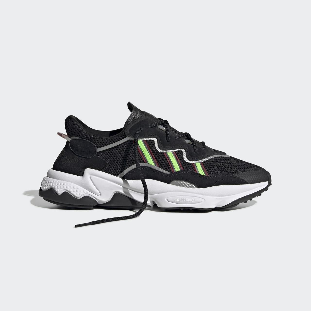 Adidas OZWEEGO EE7002 Оригинальные черные мужские кроссовки