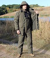 """Зимний костюм с мембраной для охоты и рыбалки """"Скиф"""" хаки"""