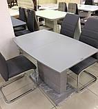 Стол TMM-50-2 серый 110/150х70 (бесплатная доставка), фото 4
