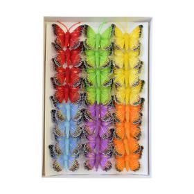 Набір декоративних метеликів 5см 2808121