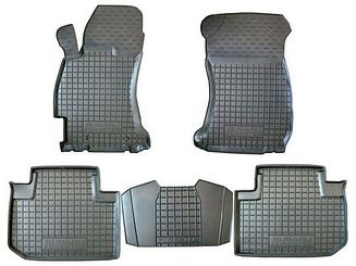 Коврики в салон Avto-Gumm для Ford Fiesta 2010-