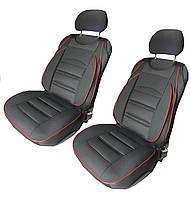 Авточехлы на передние сиденья черного цвета,универсальные чехлы-накидки,накидки на сиденья,чехлы на авто