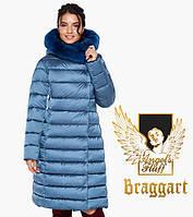 Женская зимняя куртка воздуховик Braggart Angel's Fluff аквамариновая