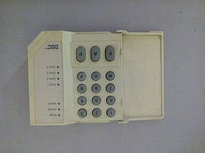 Б/У Цифровая удаленная клавиатура для охранной сигнализации PC500 RK, фото 2