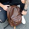 Рюкзак кожаный мужской TRIGGER BRWN коричневый