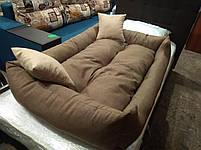Лежак для собак крупных пород 130 х 90 см, лежанка для животных, лежанка для собак, лежанка для собак крупных, фото 2