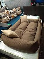 Лежак для собак крупных пород 130 х 90 см, лежанка для животных, лежанка для собак, лежанка для собак крупных, фото 7