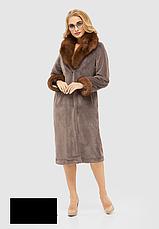 Шуба женская стильная размеры: 46,52, фото 3