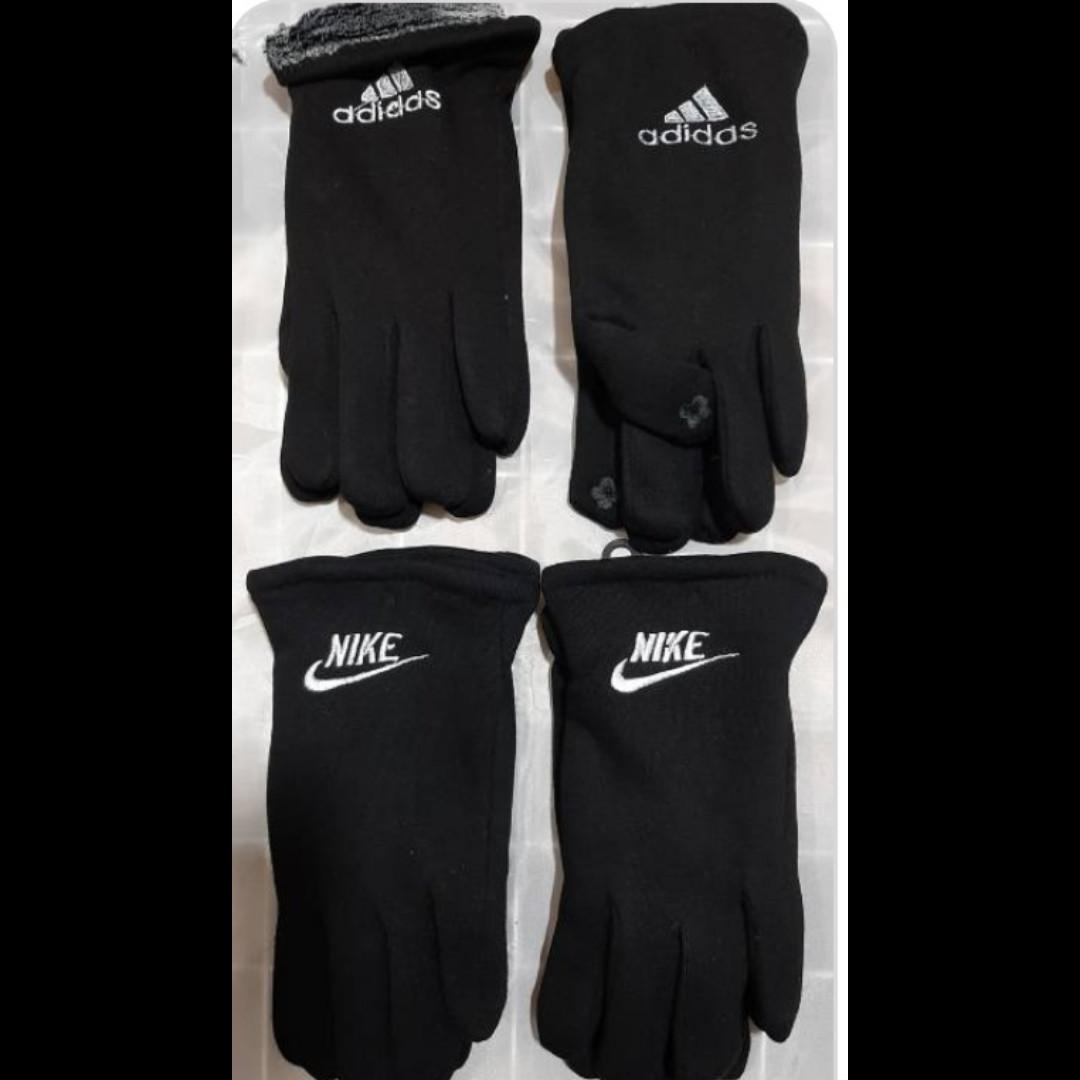 Мужские смартфон перчатки зима внутри мохра