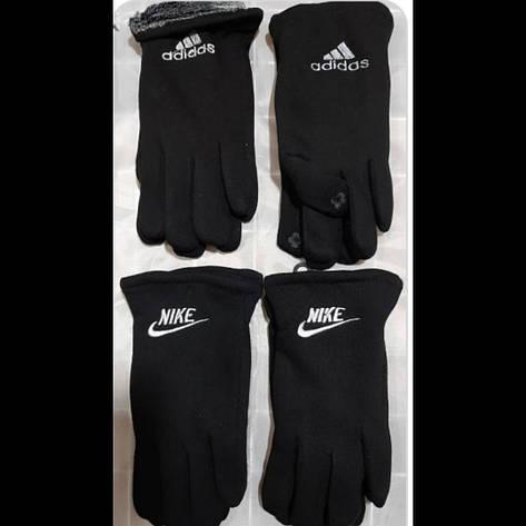 Мужские смартфон перчатки зима внутри мохра, фото 2