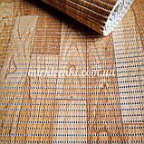 Качественный рулонный коврик Паркет ширина 80 см для Ванной Туалета Кухни Коридора Аквамат розница, фото 2