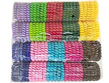 Резинка пружинка цветная для волос набор 25 шт