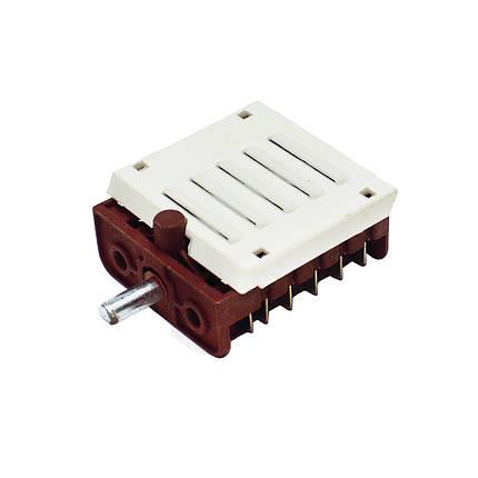 Переключатель режимов для электроплиты MXT BC5-11 (5 позиций, вал 15 мм), фото 2