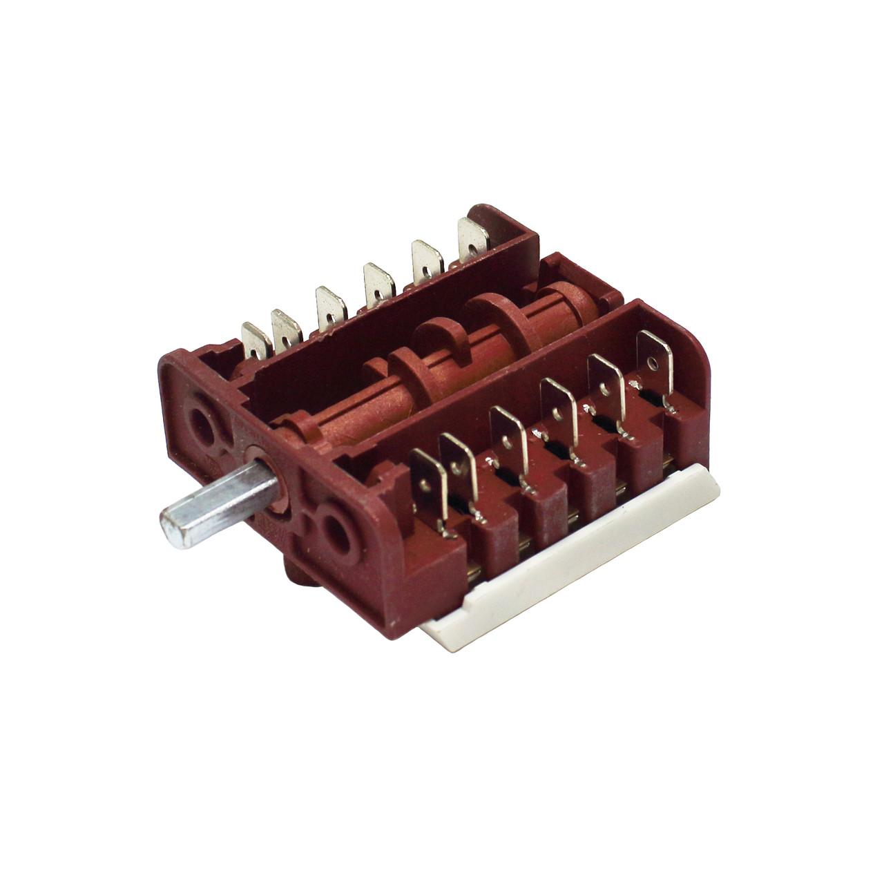 Переключатель режимов для электроплиты MXT BC5-11 (5 позиций, вал 15 мм)