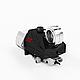 Пеллетная горелка факельного типа OXI 26 кВт авторозжиг с функцией памяти и защитой от возгорания, фото 4