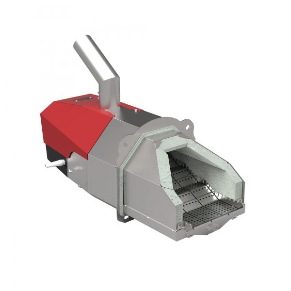 Пеллетная горелка факельного типа OXI 100 кВт авторозжиг с функцией памяти и защитой от возгорания