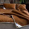Эксклюзивный постельный комплект с шерсти верблюда. Шерсть/шерсть. Разные размеры + подарок, фото 6