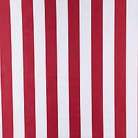 Ткань для тентов палаток качелей маркиз зонтов №135 ПОЛОСА БЕЛЫЙ/КРАСНЫЙ