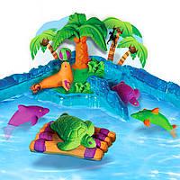 Набор Плавающий Кинетический песок Райский остров. Kinetic Sand Float, Paradise Island. Оригинал Spin Master, фото 1