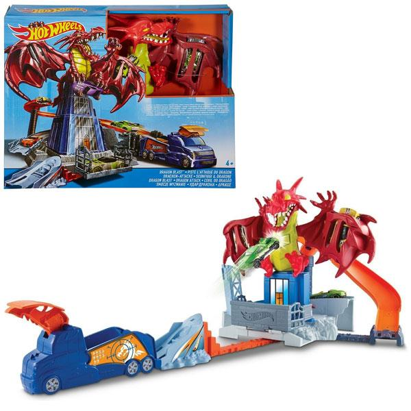 Игровой набор Атака дракона Hot Wheels Kid (DWL04)