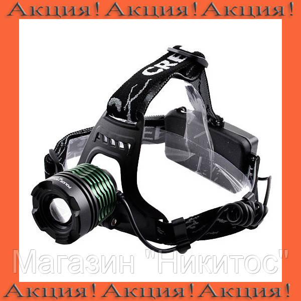 Налобный фонарик Police BL-2188B-2!Акция