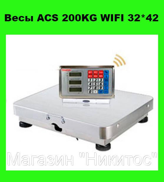 Весы ACS 200KG WIFI 32*42!Опт