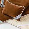 Эксклюзивный постельный комплект с шерсти верблюда. Шерсть/сатин. Разные размеры + подарок, фото 4
