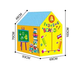 Игровая палатка-домик для детей (Школа) домик / School House, фото 2
