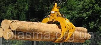 Моторные грейфера для  круглого леса
