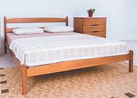 """Ліжко Ліка без ізніжжя, дерев'яне 80х190 """"Олімп"""""""
