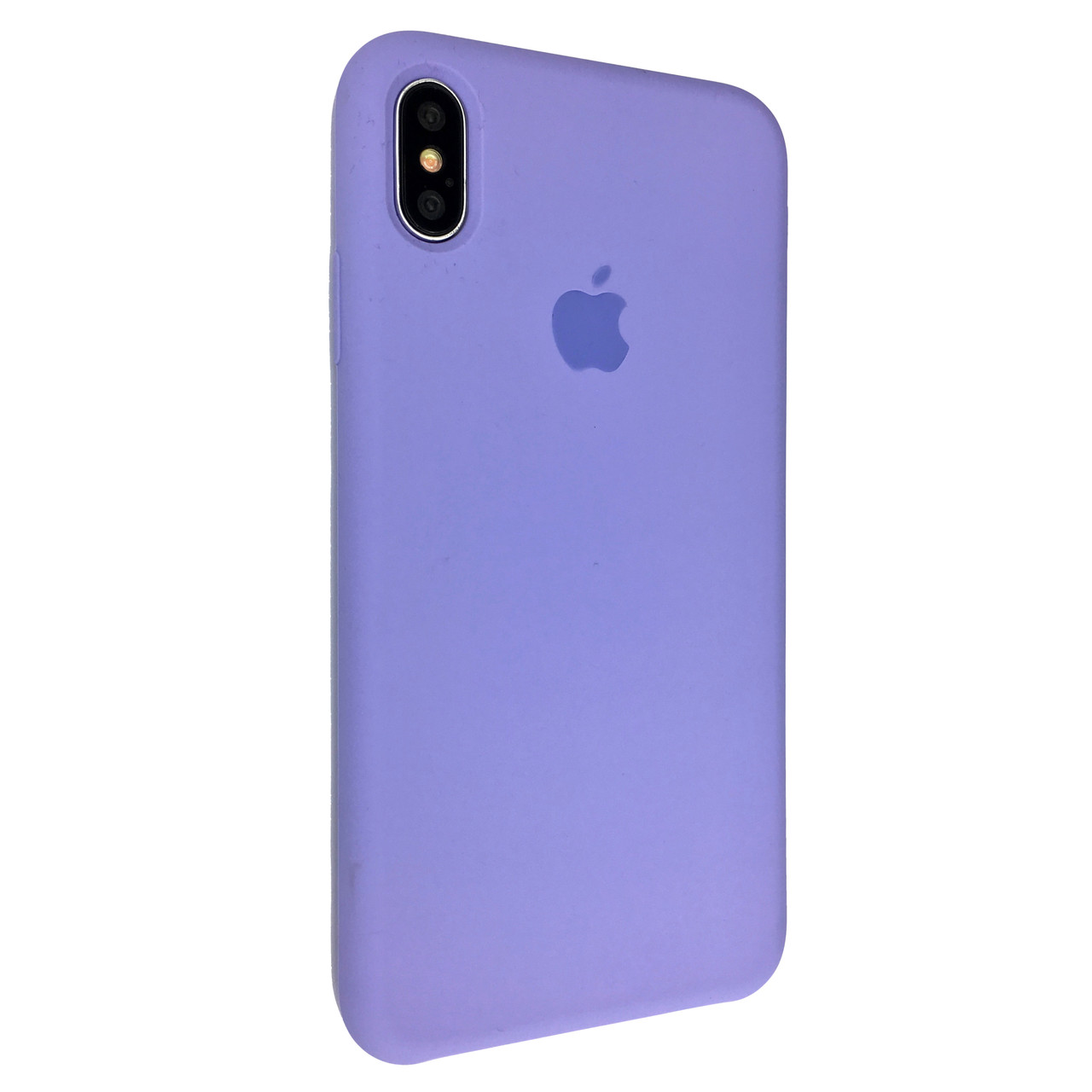 Чехол-накладка Silicone Case для Apple iPhone X / XS (Viola)