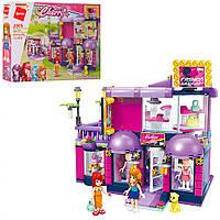 Детский конструктор типа Лего для девочки Магазин одежды 458 дет. Qman 2005Q
