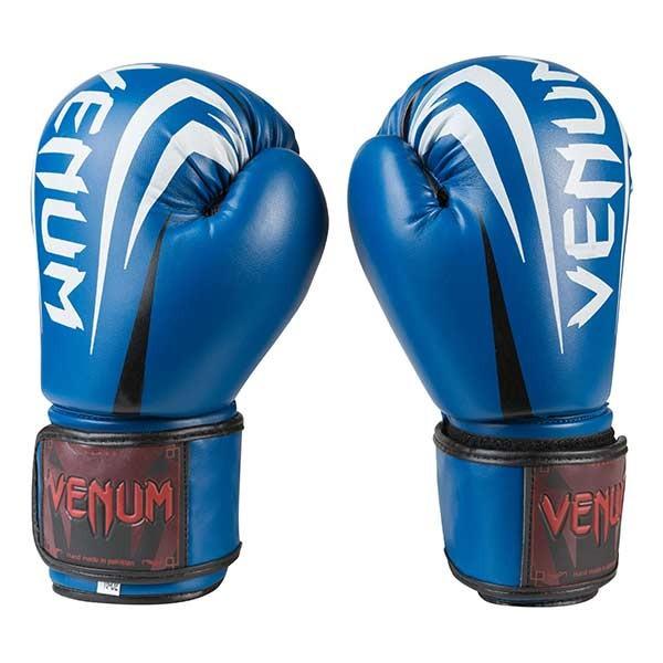 Боксерские перчатки Venum, DX, 8,10,12oz синий