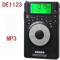 Радіоприймачі, цифрове радіо DEGEN DE1123 портативне радіо