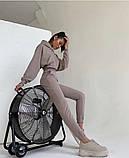 Теплый женский спортивный костюм с капюшоном 39-542, фото 6