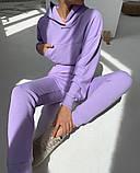 Теплый женский спортивный костюм с капюшоном 39-542, фото 10