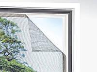 Антимоскитная сетка на окно, 2 шт 130 х 150 см POWERFIX